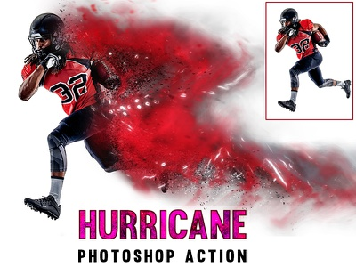 Hurricane Photoshop Action photoshop photo effect photo action hurricane galaxy effect color  dispersion atn file atn action 1click action