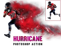 Hurricane Photoshop Action