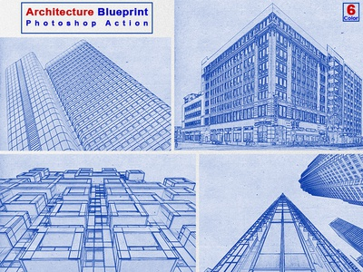 Architecture Blueprint Photoshop Action v-2 sketch premium action photoshop action photo effect graphic art geometry generator drawing digital art acrylic abstract template construction architecture blue paint artistic art art architecture blue print architecture color print architecture art