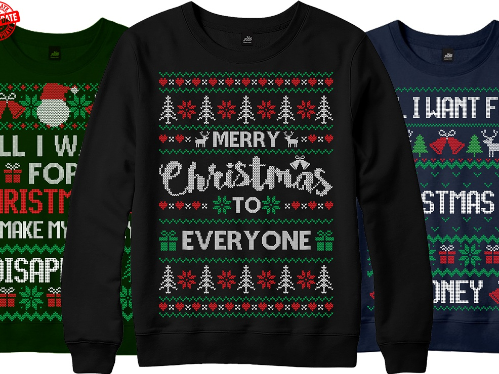 Ugly Christmas Sweater Design.Ugly Christmas Sweater Design By Nurul Amin Sumon On Dribbble