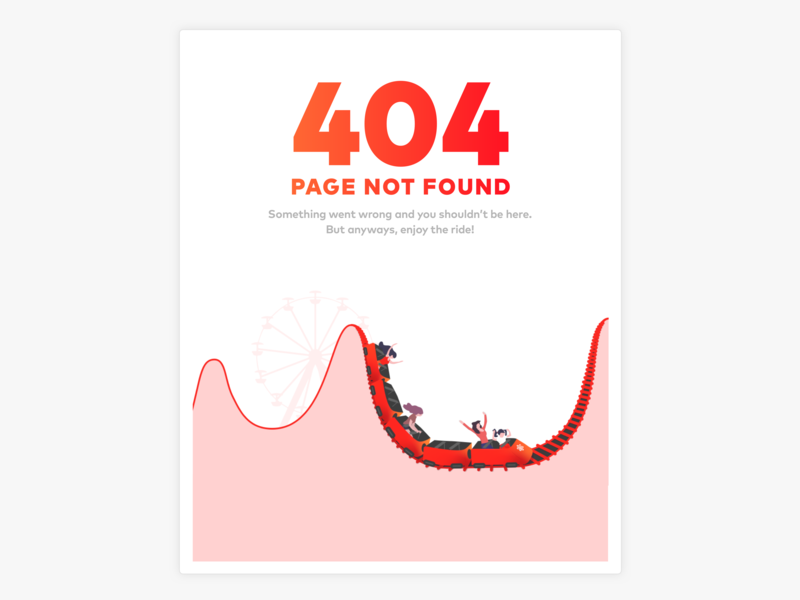404 – Page Not Found trading chart vector rollercoaster illustration page not found page 404 404 page 404 error 404 error page 404error 404