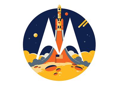 Motorola Chicago Hackathon 2019 logo logo design logotype visual identity