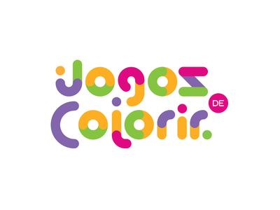 Jogos de Colorir Logo Design