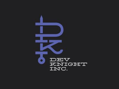 DevKnight Logo Design
