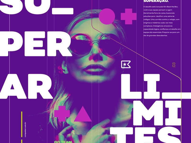 Conquistar Visual Identity brand elements branding brand design visual identity visual design graphic design