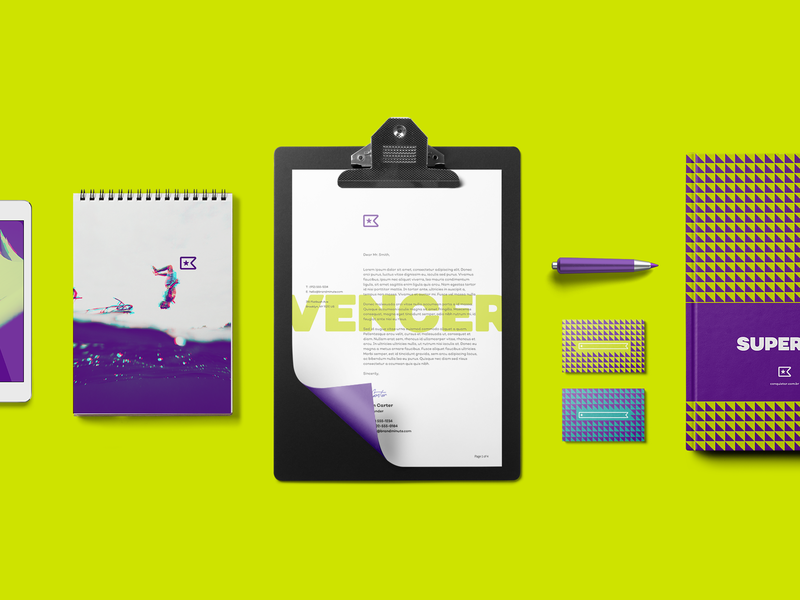 Conquistar Collateral Design brand elements branding brand design visual identity visual design graphic design