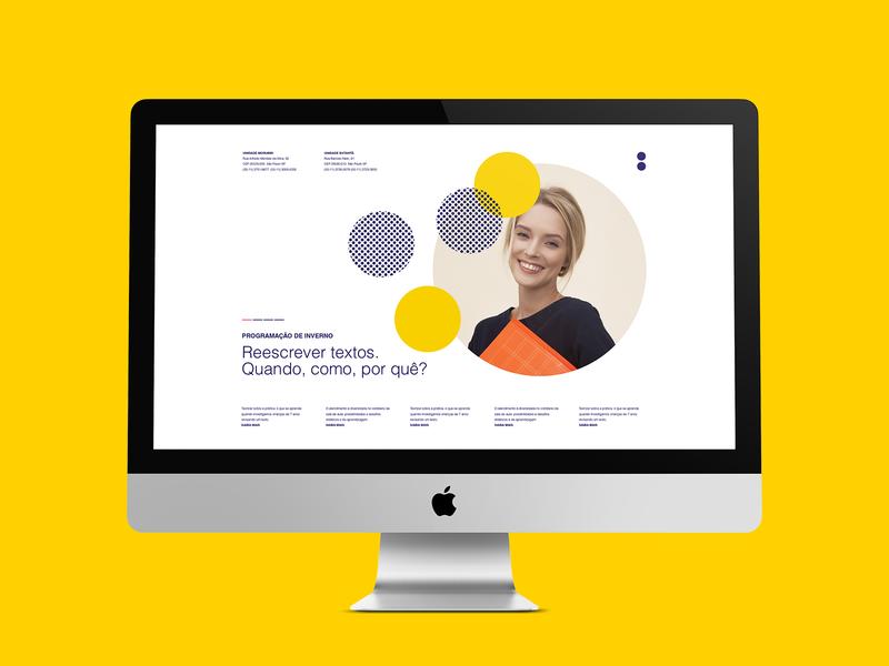 Website Centro de Formação da Vila brand elements logo design design logotype brand design branding graphic design visual design visual identity