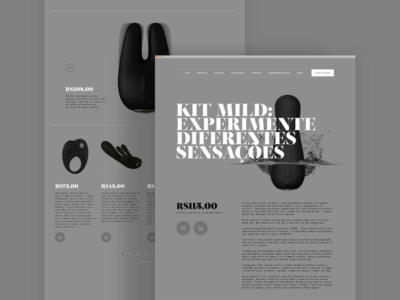 Segredinho Nosso Website logo design design logotype brand design branding graphic design visual design visual identity