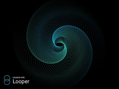 Loops experiments effect gradient loops looper patterns