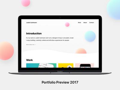 Portfolio Preview 2017