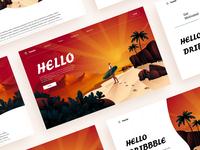 Illustration's Landingpage