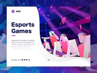 Esport Games Illustration