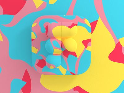 3D Figma logo design illustration visualization figma3d figma vectary3d vectary branding logo graphic design ui 3d