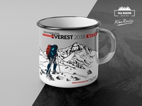 Everest Raulin Enamelled Mug Design
