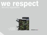 Konica Minolta We Respect Security