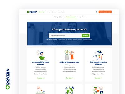Dôvera Website website design web illustration ux ui