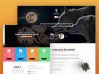 Volf - Creative Multipurpose PSD Template