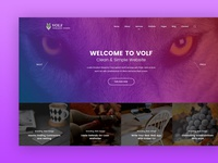 Volf - Creative Multipurpose PSD Template