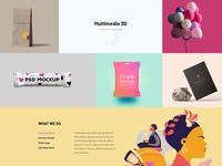 Picko - Clean Portfolio & Multipurpose PSD Template
