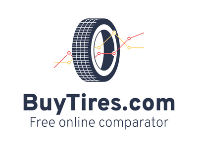 BuyTires.com - Free online comparator comparator graph identity logo tires