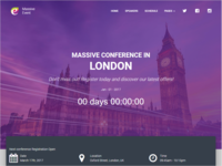 Event Conference HTML Template