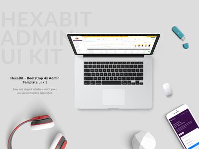 Hexabit Admin Template admin template uikit thememakker wraptheme themeforest html scss admin dashboard admin panel template design template dashbaord admin