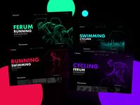 Dynamic sport page