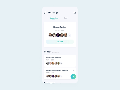 Meeting AI | Creating a new meeting minimal ui ios motion mobile startup design application animation date calendar meetup meeting app team app ai meeting