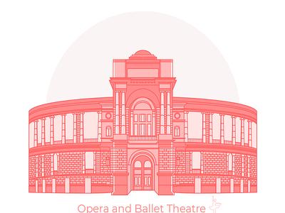 Theater web deisgn junior illustration illustrator