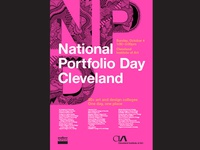 National Portfolio Day Poster
