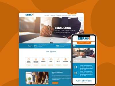 Website design for Ebram