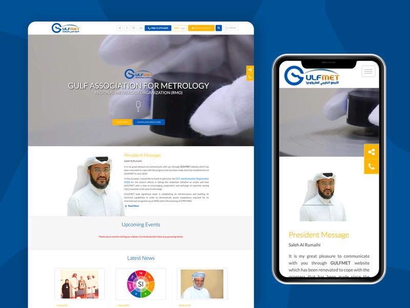 Website for Gulfmet type branding designs dashboard uxdesign uidesign dribbble identity website design webdesign designer ux web ui website typography minimal design arabic design