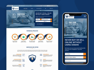 Website for damen type dashboard designs uxdesign uidesign dribbble webdesign website design ui ux web branding website typography minimal design arabic design