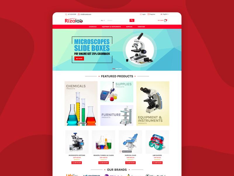 Website for rizalab insurance minimal identity ux ui web design designs dribbble uxdesign uidesign website design webdesign designer branding website typography arabic design