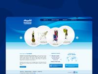 Website design for Tashbeek