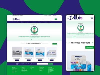 Website for ALBIO