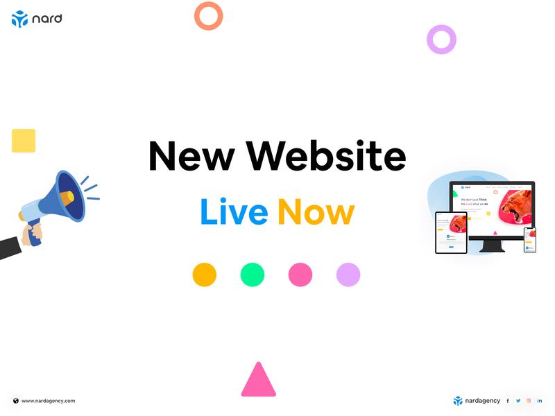 Nard New Website web designer dribbble uxdesign uidesign website design webdesign typography website design nardagency nardagency