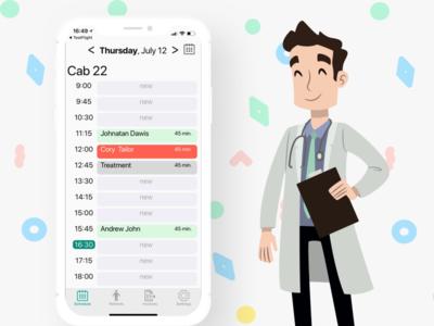 Design for Schedule app