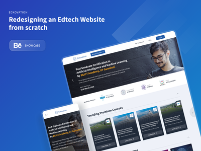 Redesigning an Edtech Website from scratch edtech landing pages homepage design website design ui ux e learning illustration design