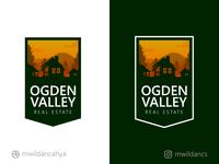 Ogden Valley Real Estate Logo Concept