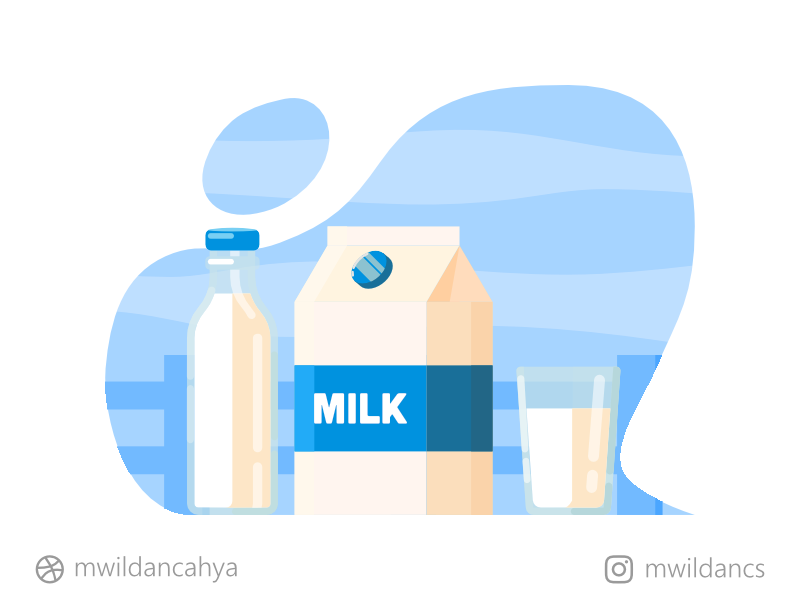 This is Milk. Obviously. vector art flat illustration vector inspiration icon illustration icon illustrator madeinaffinity creative solid milk vector illustration flat design flat artwork concept illustration affinity designer vector design