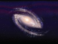 Barred spiral galaxy