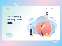 The earning money team