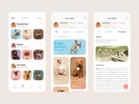 Pet app 2 app pet app ui branding