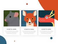 Geometric animal