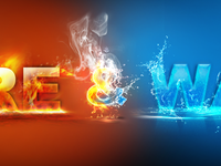 Fire and Water manipulation