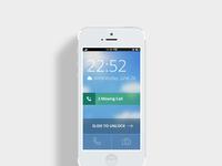 Iphone home screen att
