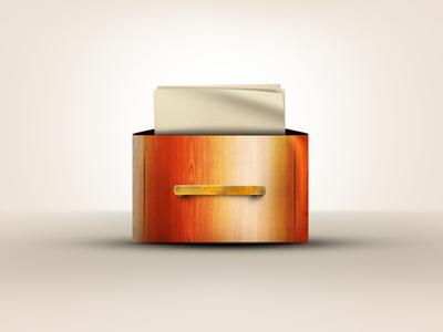 Paper drawer dribbble