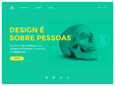 Portfolio 2017 - Study portfolio web design ui