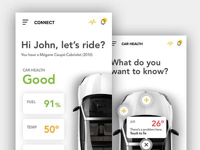 Connect App 2.0 app design ux ui design